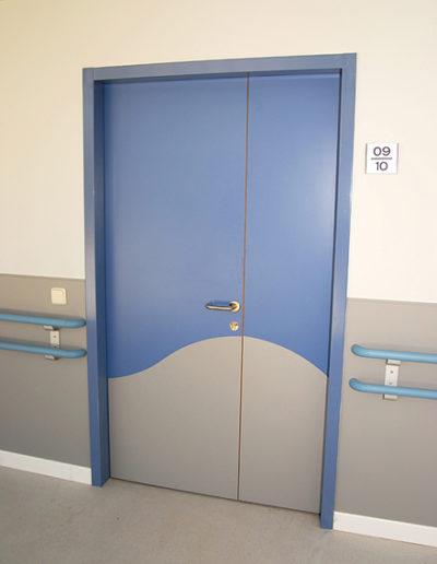 Acrovyn-Door-Cladding