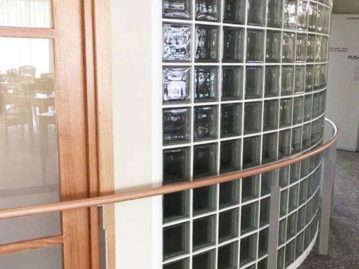 Handrails at Amaroo Aged Care Facility