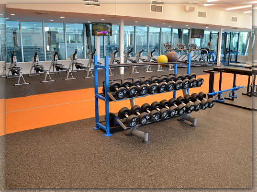 Gym flooring for fitness areas gyms weight rooms sporting venues