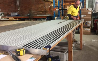 Entrance Matting: In-house manufacture