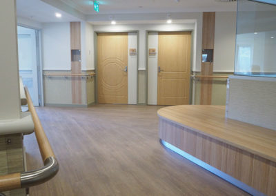 Acrovyn Doors and CS Handrails for New Aged Care Facility