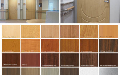 Acrovyn: Timber and Metal Effects