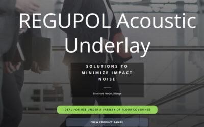 New-look Acoustic Underlay Website Section